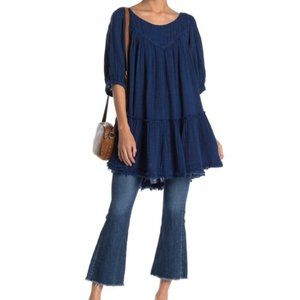 COPY - Free People Navy Mystery Land Tunic
